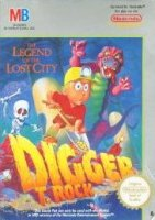 Digger T. Rock - Legend of the Lost City